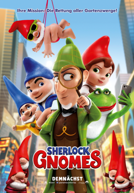 Sherlock Gnomes Film